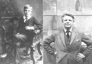Adrian Stokes in 1913 & 1965